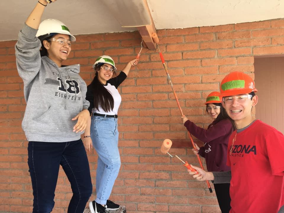 Lasallian youth volunteers